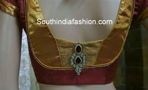 design pattern blouse back neck stylish blouse back neck pattern for silk sarees south