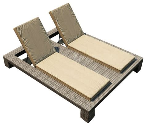 outdoor double chaise lounge chairs hton double adjustable chaise lounge heather wicker
