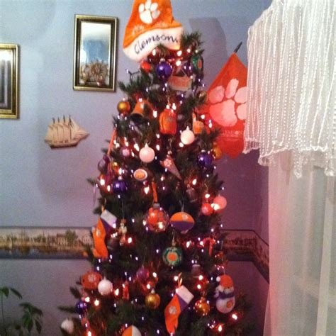 ryan s clemson christmas tree clemson pinterest
