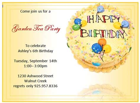 birthday invitations templates free for word mat denan free 1 4 fold birthday