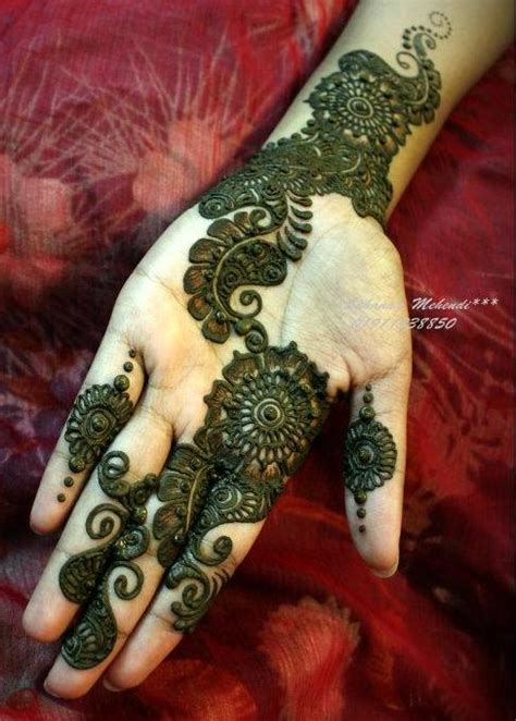 Dulhan Mehndi Designs Indian Fashion Arabic Designs For