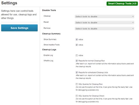 reset tool plugin nextgen smart cleanup tools by gdragon codecanyon