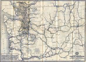 Washington State Highway Map by Washington State Highway Map 1927 Lots Of Amazing Stuff