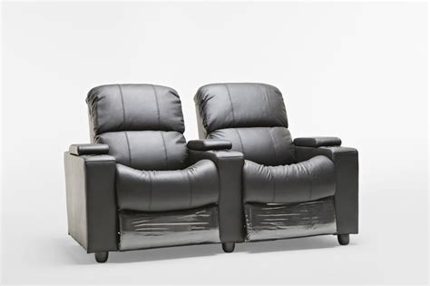 2 seater theatre recliner sophie brand new black leather 2 seater recliner home