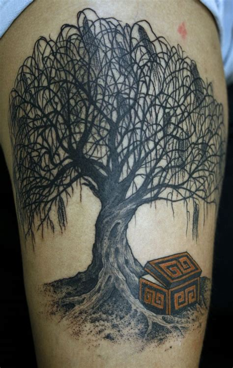 willow tattoo weeping willow designs ideas and meaning tattoos