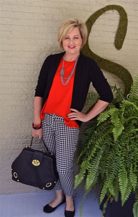 brand of clothing for 50 yr old for women classic and houndstooth on pinterest