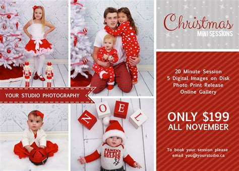 christmas mini session christmas mini session template