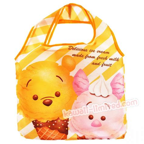 Piglet Pooh Tsum Tsum For Iphone 55s japan disney eco shopping bag tsum tsum winnie the pooh piglet kawaiilimited