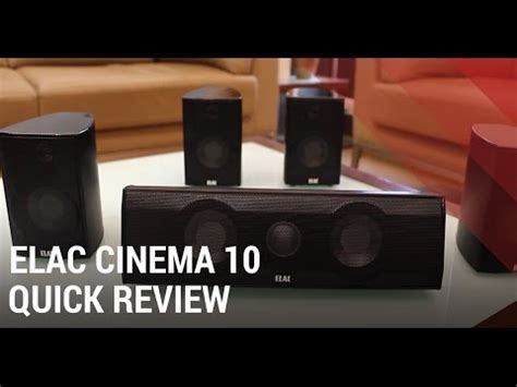 elac cinema  set review  channel home theater