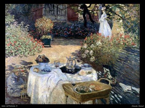colazione in giardino claude monet pittore altre opere 2 settemuse it