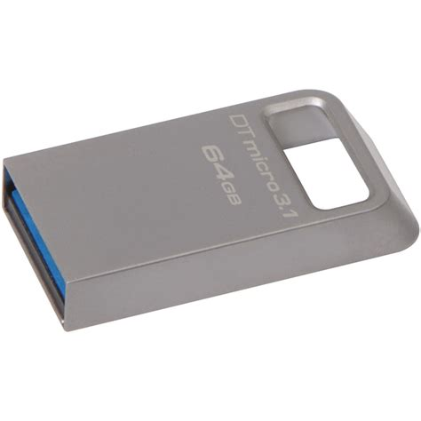 kingston 64gb datatraveler micro 3 1 usb flash drive dtmc3