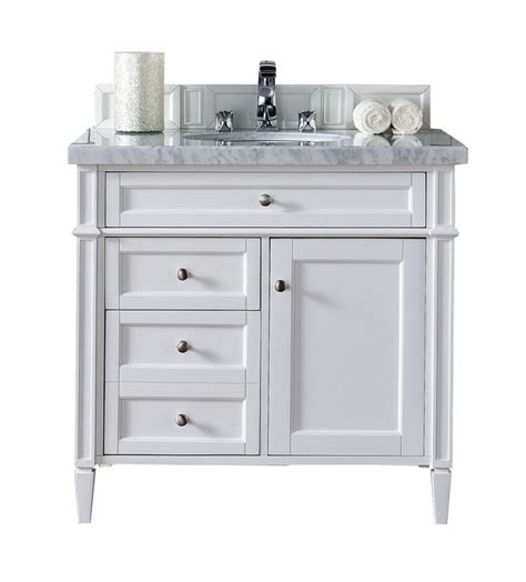 cottage bathroom vanity marvellous basement makeover brittany 36 quot cottage white bathroom vanity james martin