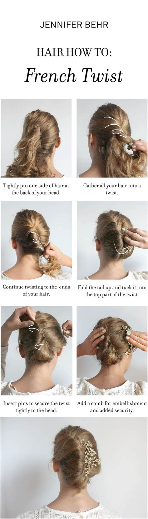 how to do a french twist how to make a french twist up do with the jennifer behr