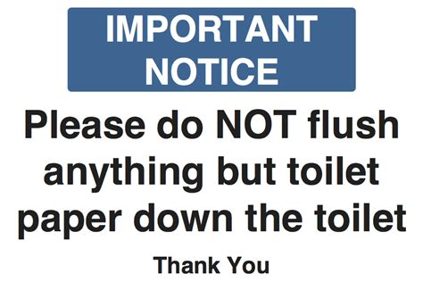 do not flush signs for bathroom wording for signs to flushing a toilet just b cause