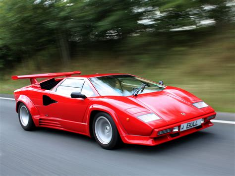 1988 Lamborghini Countach LP5000 Quattrovalvole UK spec