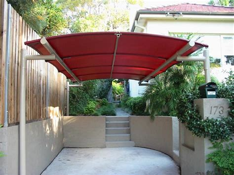 car port awning curved batten awning carport