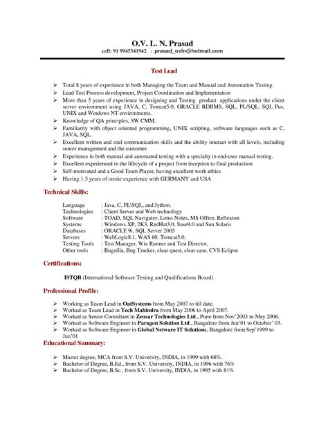 sas programmer sle resume 28 28 images entry level