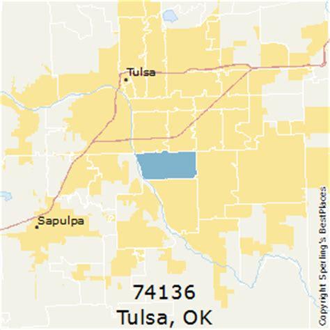 zip code map tulsa best places to live in tulsa zip 74136 oklahoma
