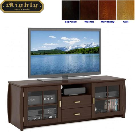 tv media cabinet with doors 59 inch espresso drawer tv media television cabinets with