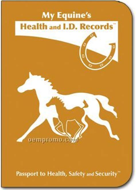 S D Records My Equine S Health And I D Records Passport China Wholesale My Equine S Health And I