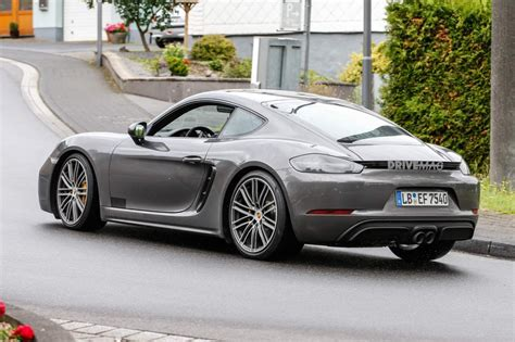 2018 porsche 718 cayman gts is not to show its