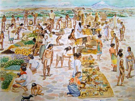 Imagenes Mayas Economia | culturas mayas y aztecas econom 205 a azteca