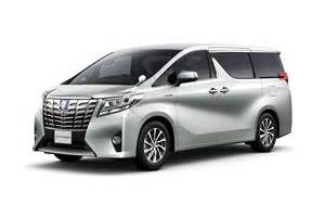 Www Toyota Alphard Toyota Unveils New Alphard And Vellfire Minivans In Japan