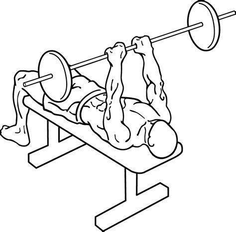 one arm barbell bench press close grip bench press a classic chest and tricep exercise