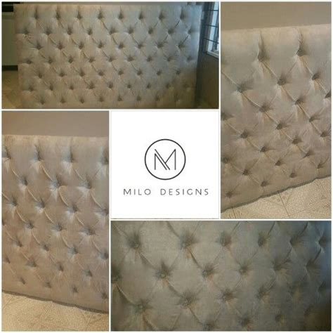 how to deep button a headboard 17 best images about milo designs on pinterest reception