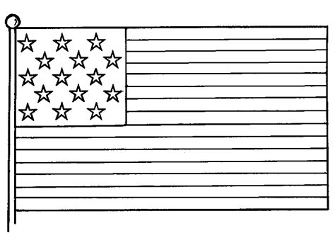 us flag coloring page free coloring american flags to print