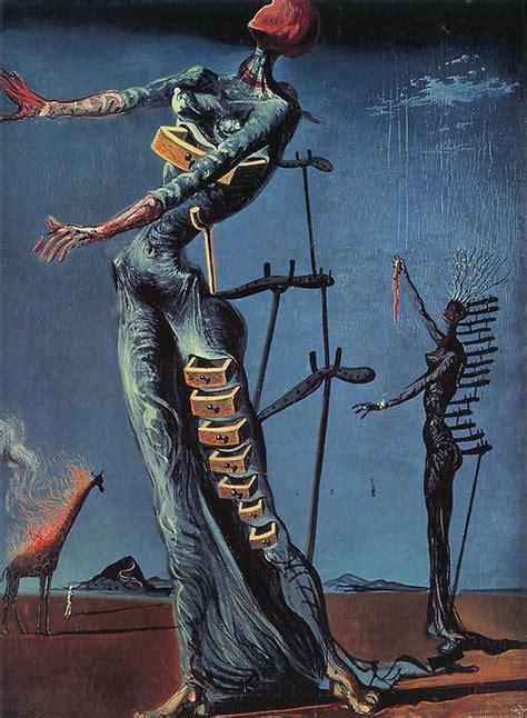 Femme Tiroir Dali by The Burning Giraffe Salvador Dali 1937 Dal 237
