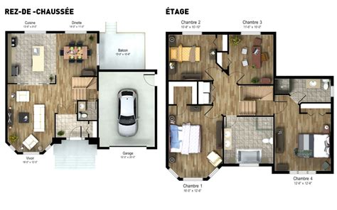 interior plans for home groupe h 233 l 232 ne mathieu residential projects quartier