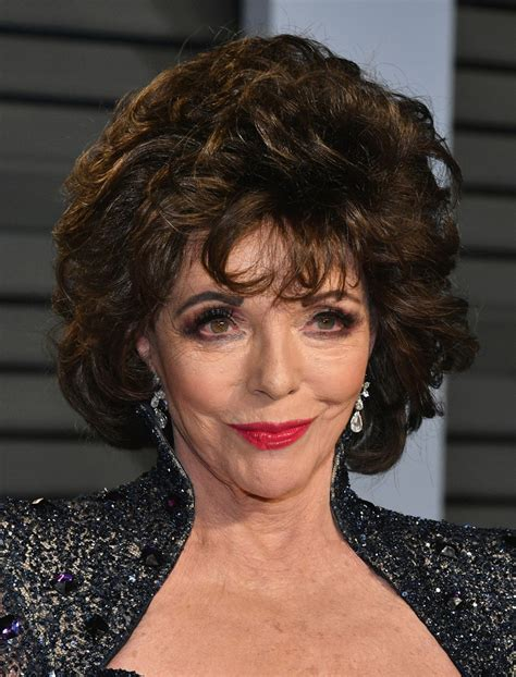 joan collins photos photos 2018 vanity fair oscar party