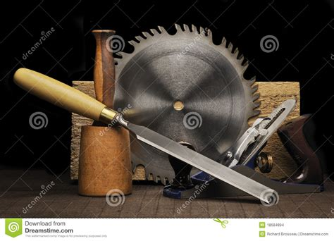 woodworking on woodworking tools stock images image 18584894
