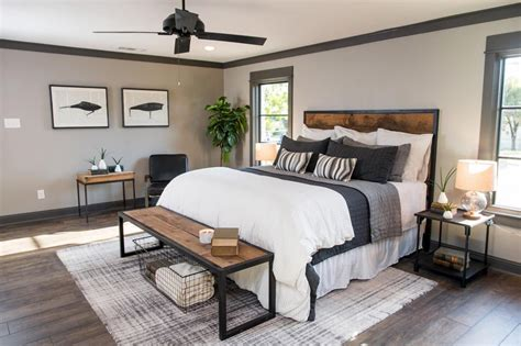 Joanna Gaines Master Bedroom Comforter a fixer bachelor pad get chip jo s single