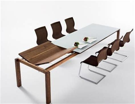 modern furniture dining table extension dining room table from team 7 the magnum