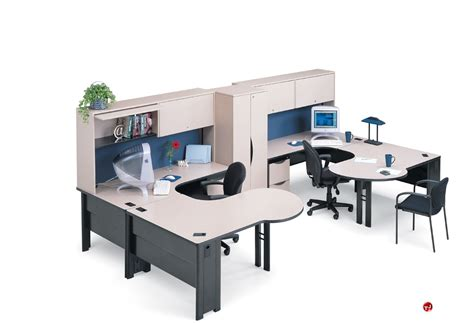 office workstation furniture the office leader abco endure endconfig8 2 person u shape office desk workstation
