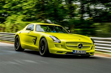 mercedes sls electric drive mercedes sls amg electric drive laps nurburgring in 7