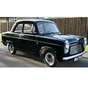 1959 1962 Ford Popular/Anglia/Prefect 100E Specifications