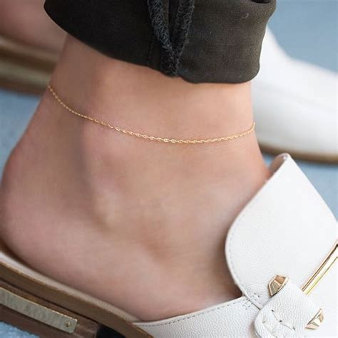 Chain Anklet 25 best ideas about anklets on anklet