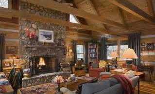 Fieldstone Barn Small Log Cabin Plans Refreshing Rustic Retreats