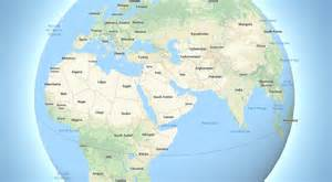earth map 3d maps dumps its flat view of the earth for a fully