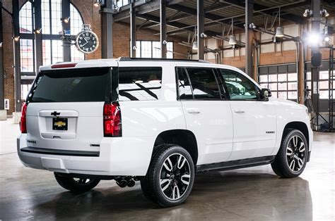 New 2018 Chevy Tahoe by 2018 Chevrolet Tahoe And Suburban Rst Look Motor Trend