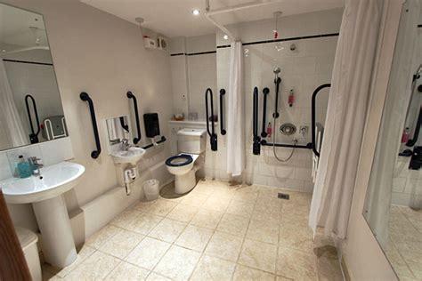Handicap Accessible Bathroom Design by Winford Manor Hotel In Bristol England Uk