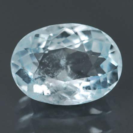 Ametrine 5 97ct 0 97ct oval cut blue aquamarine
