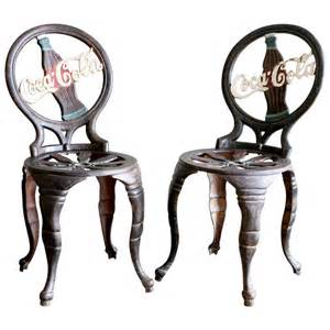 coca cola chairs at 1stdibs