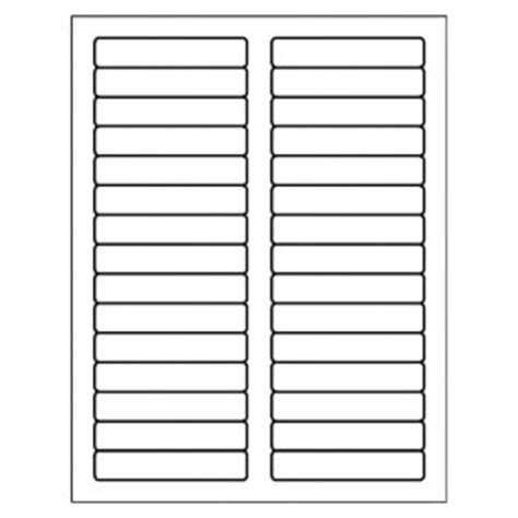 Free Avery® Template for Microsoft Word, Filing Label 5066
