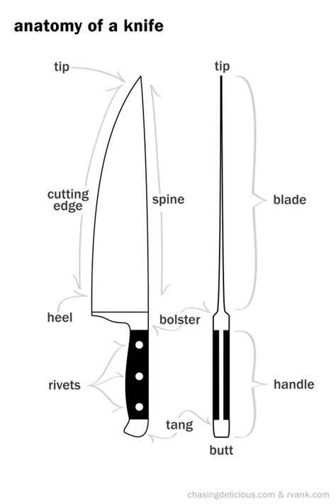 Different Types Of Kitchen Knives getting to know your kitchen knives and cutting techniques