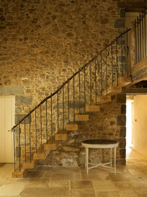 les prevosts farm farmhouse staircase channel islands  ccd architects