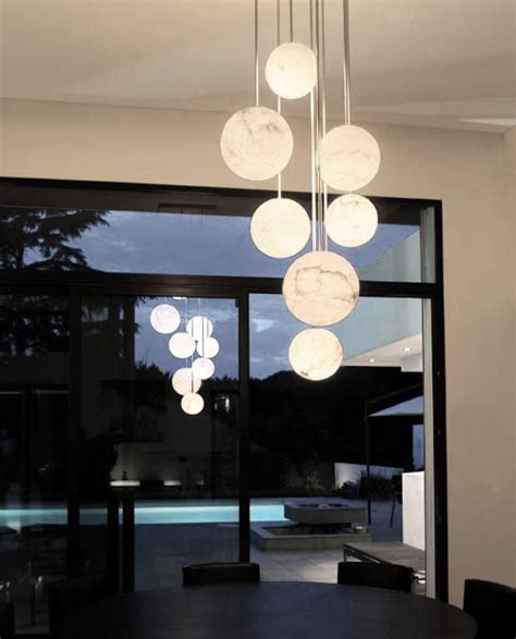 High End Pendant Lights By Atelier Alain Ellouz Harmonie Pendant Lights For High Ceilings